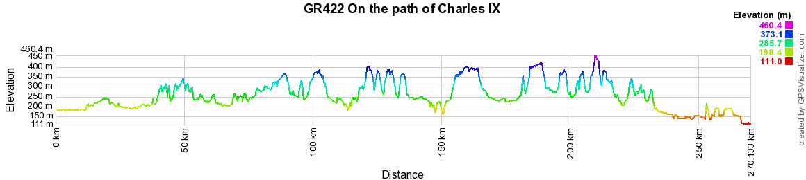 GR422 On the path of  Charles IX 2