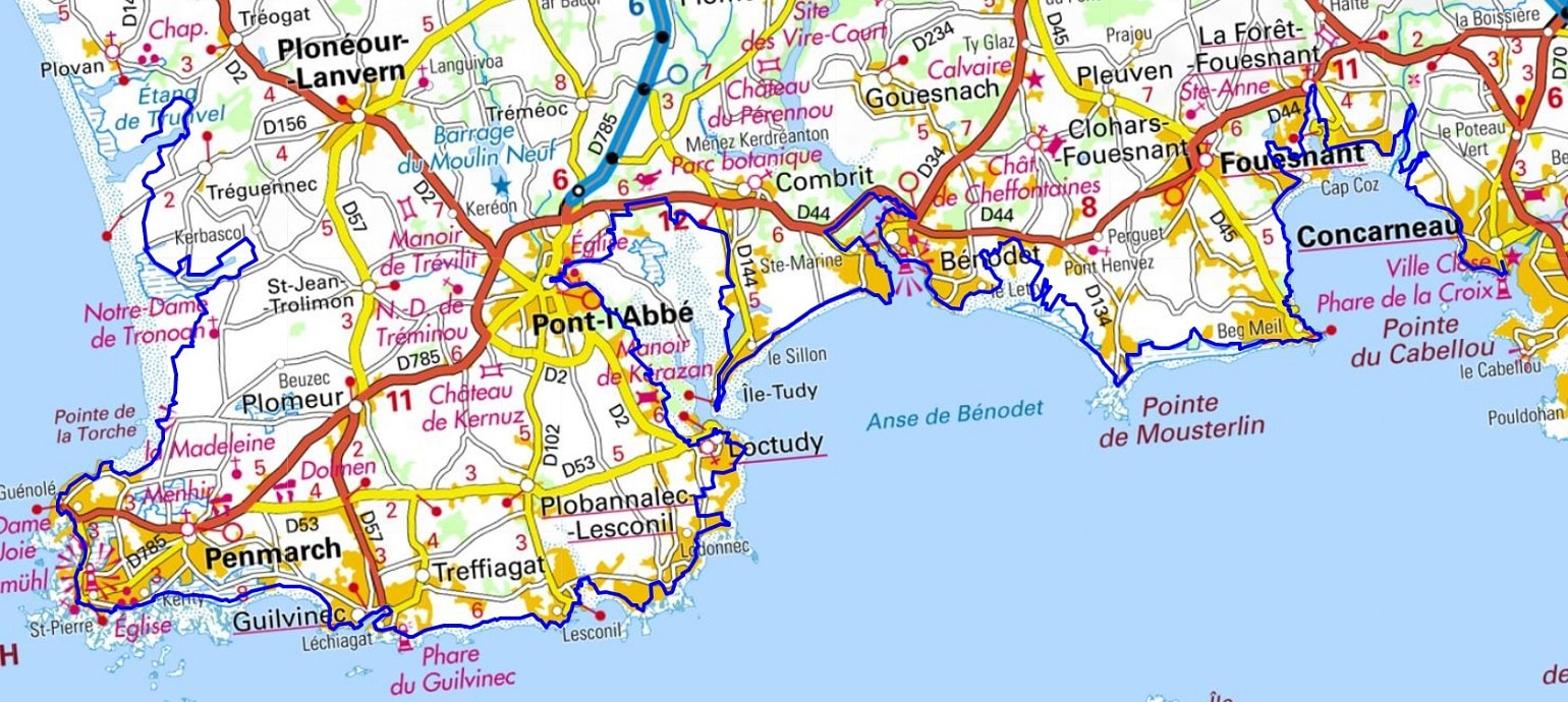 GR34 Walking from Douarmenez to Trunvel (Finistere)