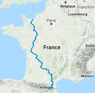 GR36 Hiking from Channel to Pyrenees 10