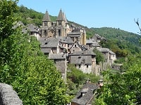 GR465 Hiking from Murat (Cantal) to Conques (Aveyron) 8