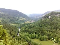 GR5 Hiking from Soulce-Cernay to Les Fourgs (Doubs) 6