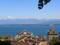 GR5 Hiking from Les Fourgs (Doubs) to Nyon (Leman Lake-Switzerland) 8